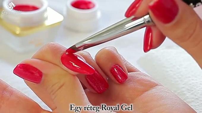 Royal Gel vs Gel de couleur classique